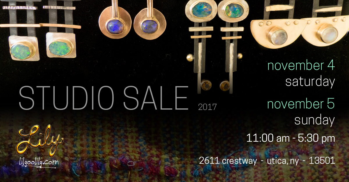 Annual Studio Sale! And Some Sunshine and Motivation